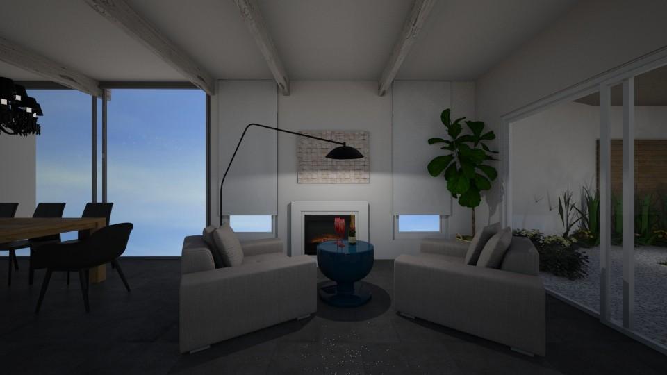 design 1 - Living room - by Maria Iliaki