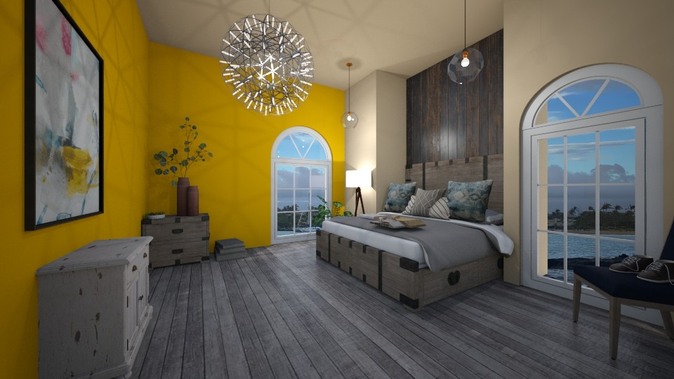 master bedroom 1 - Bedroom - by gretchen2005