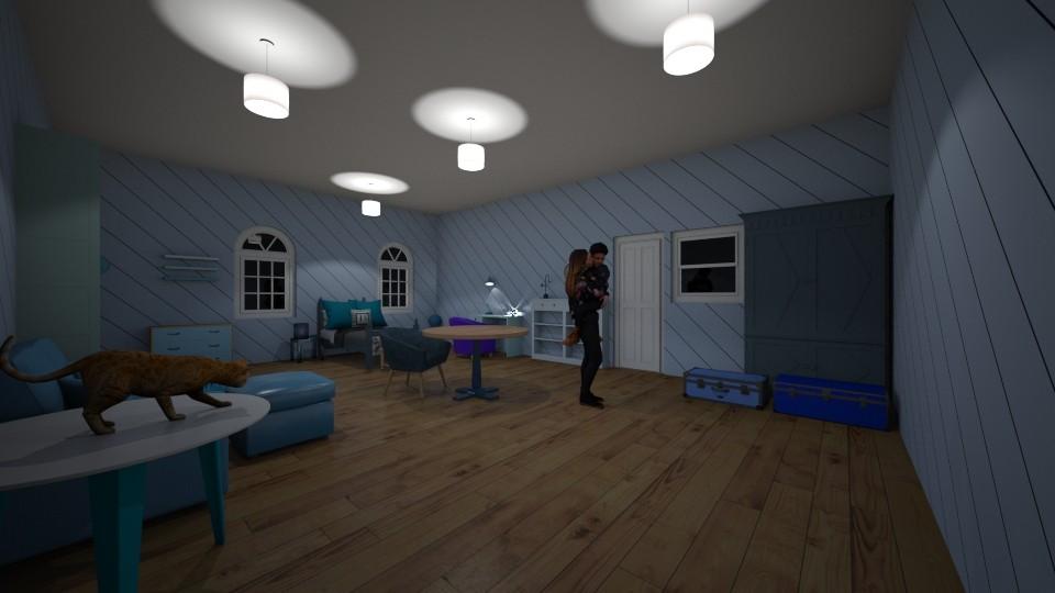 boy - Bedroom - by yukicrossnowblood