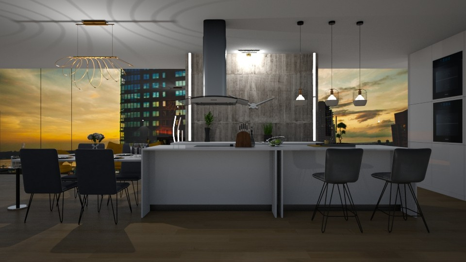 Modern kitchen - by Mihailovikj Mimi