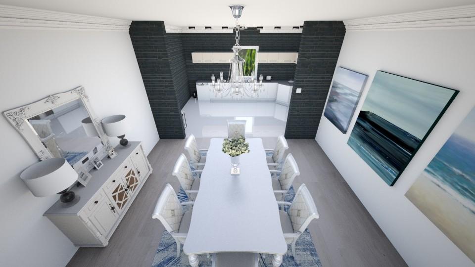 Kitchen and dinner room  - Modern - Kitchen - by AnaCatarina