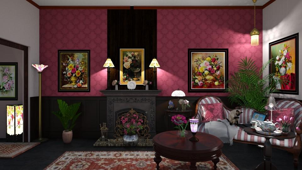 My Granny Flat - Retro - Living room - by  krc60