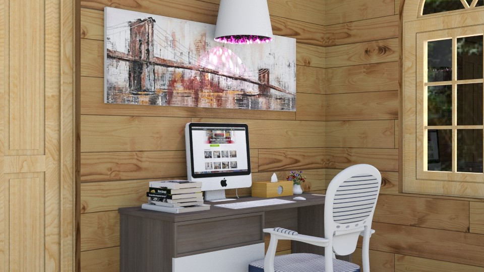 Close Up Desk Space - Modern - Office  - by Love2Create
