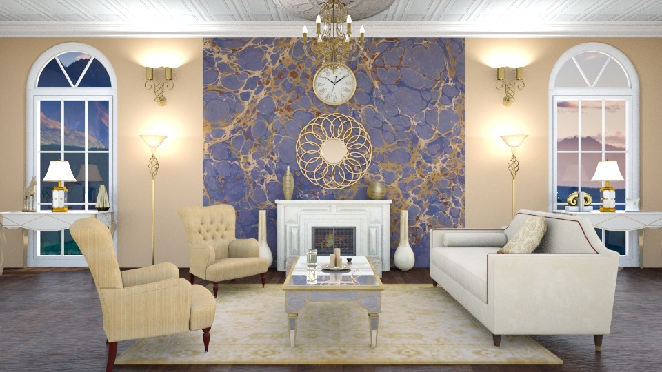 luxury - Glamour - Living room  - by annator