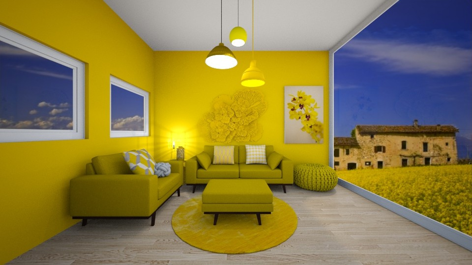 yellow vibes - by ckjewell