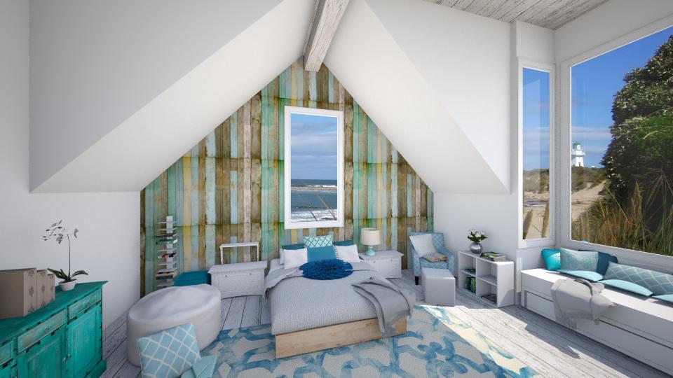 rustic modern - Rustic - Bedroom - by Ali Ruth