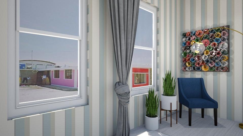 school is back  - Living room - by heynowgregory