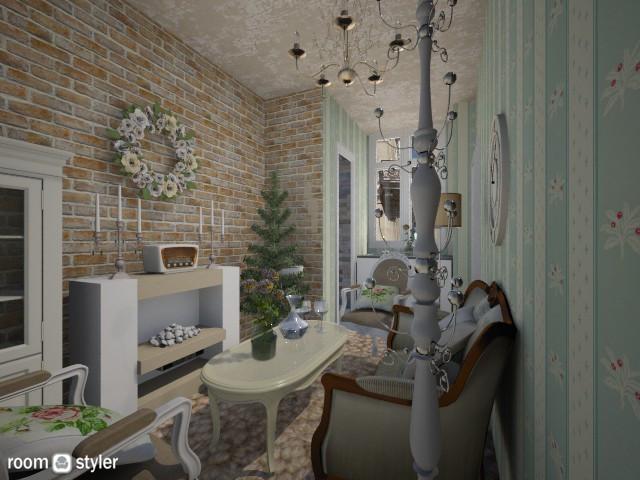 Paris Tiny Room - Classic - Living room - by xx_cordelia_xx