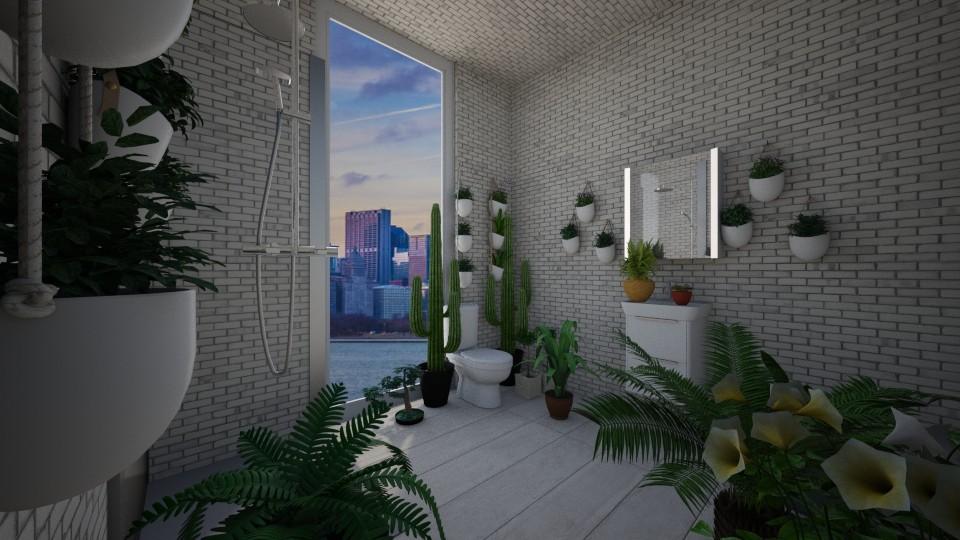 Urban Jungle Bathroom - Bathroom - by ksandy