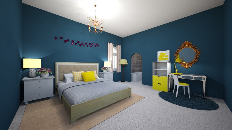 Sunshine and Sky - Modern - Living room - by neverlanddesigns