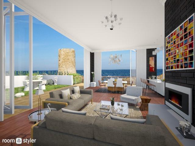 Outside Inside - Eclectic - Living room  - by giulygi
