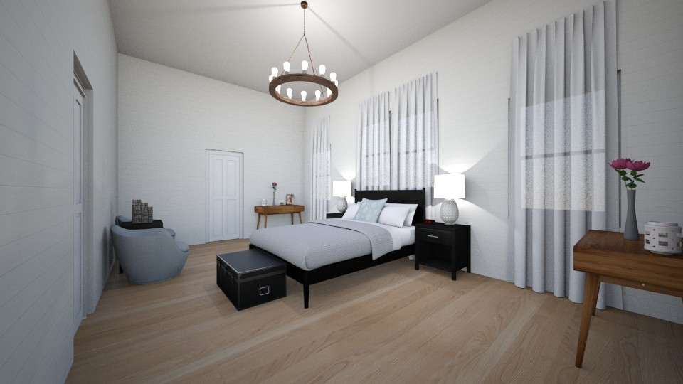 Master Bedroom - Eclectic - Bedroom - by WPM0825