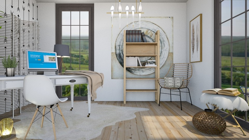 Boho Office - Office - by KimAlys
