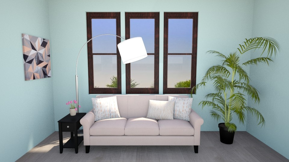 Front View Interior - Living room - by Abigail Enloe
