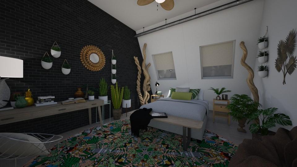 urban jungle - Bedroom - by td123