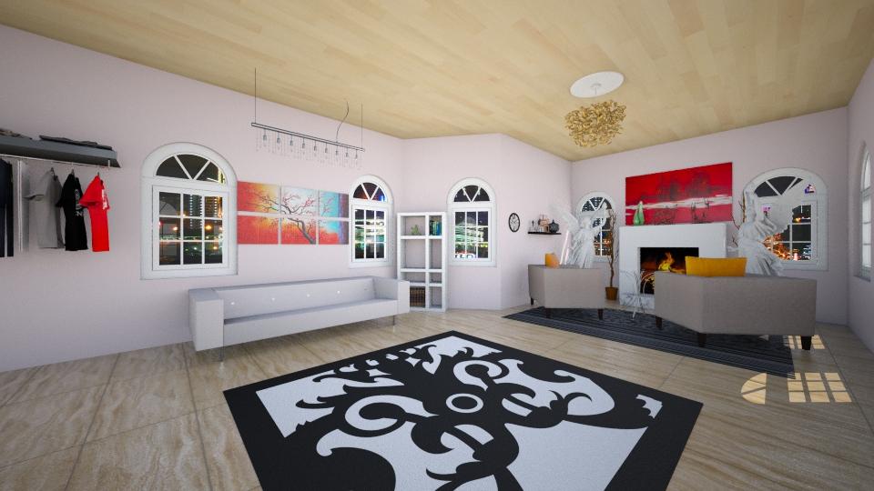 This livingroom - Living room - by Dasha Chukalovskaya