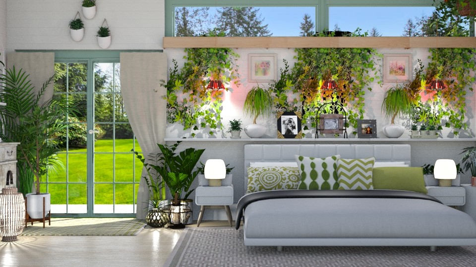 Urban Jungle BR - Bedroom - by  krc60