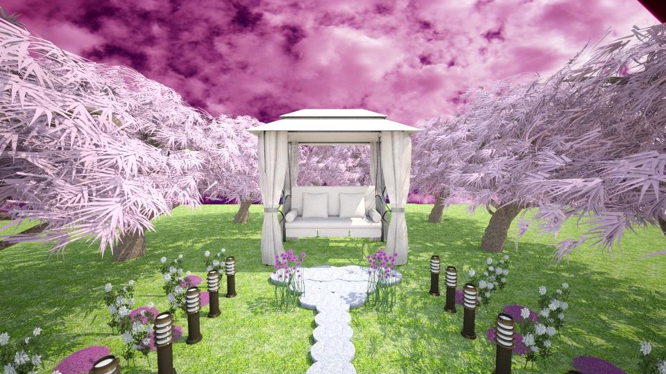 My dream - Garden - by Anliz
