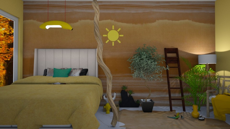 Modern Playful bedroom - Bedroom  - by Cacti Queen