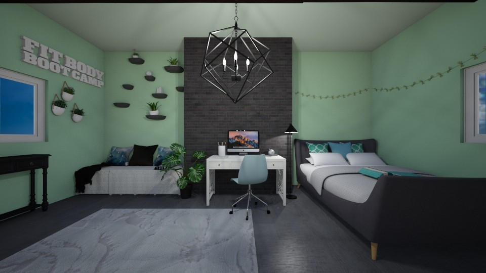 Chilling teen room - Bedroom - by Muneesssssss