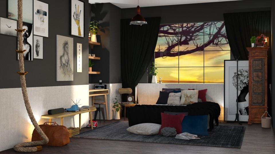 dusk - Bedroom - by TamarK