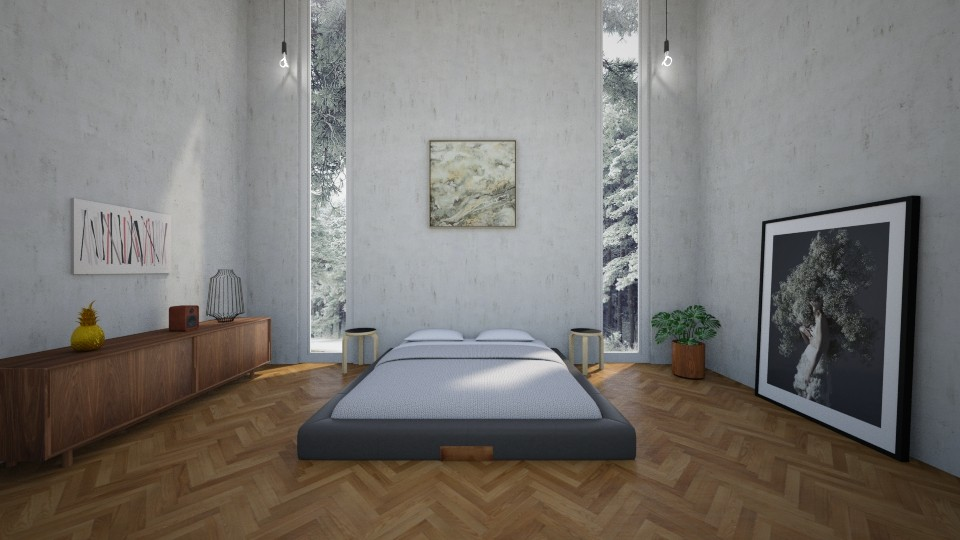 Modern Bedroom - by Bastin