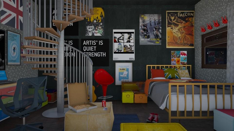TEEN - Bedroom - by ilikalle