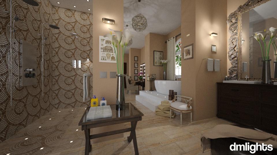 master bath - Bathroom - by DMLights-user-996689