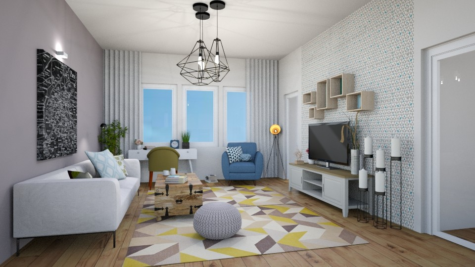 flat - Living room - by levai_magdolna