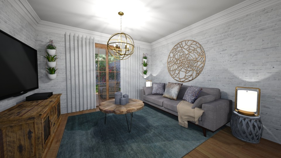Living Duplex - by Maria Luciana