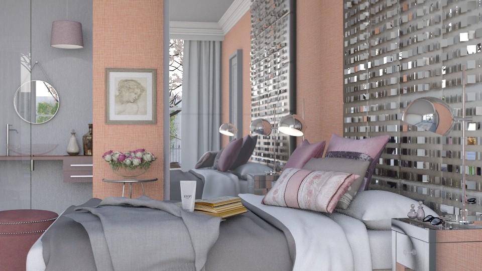 Kalopsia - Bedroom - by Mum Dali