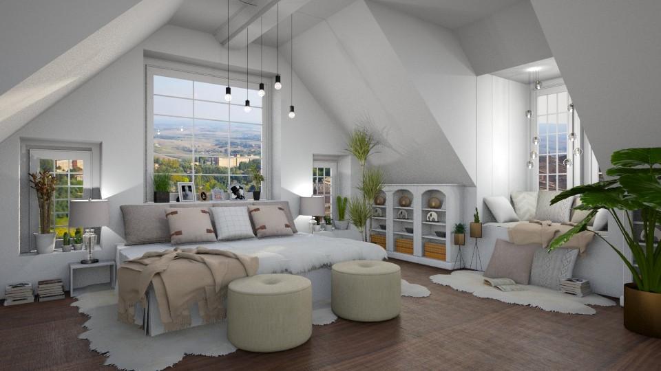 attic room - by Ali Ruth