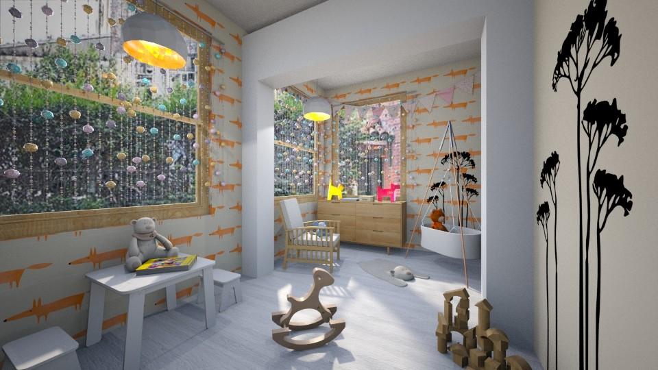 Cute Nursery Room - by seufri