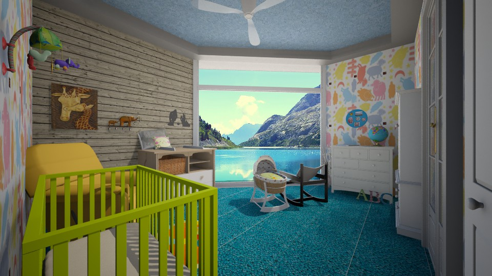 contest - Kids room - by ebonee