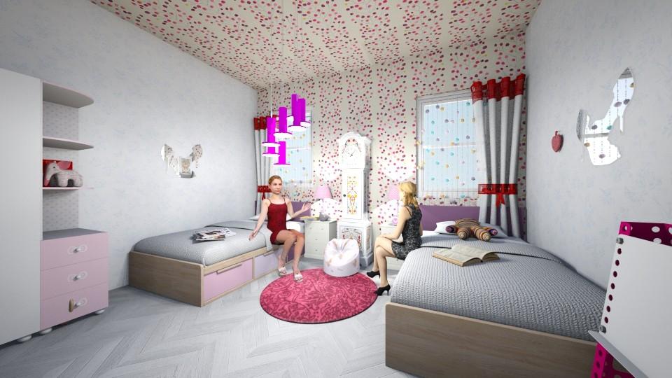 Dhome Femrash - Modern - Bedroom - by Egzona Ramadani