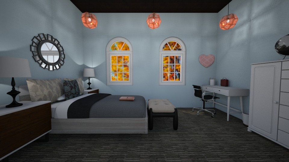 small bedroom - by The vamps lover