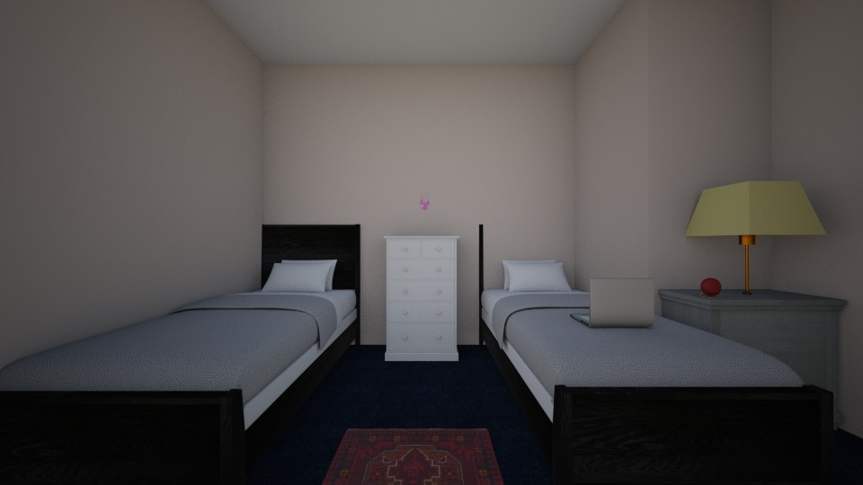 Me and my sisters room - Modern - Bedroom - by Alishba_A