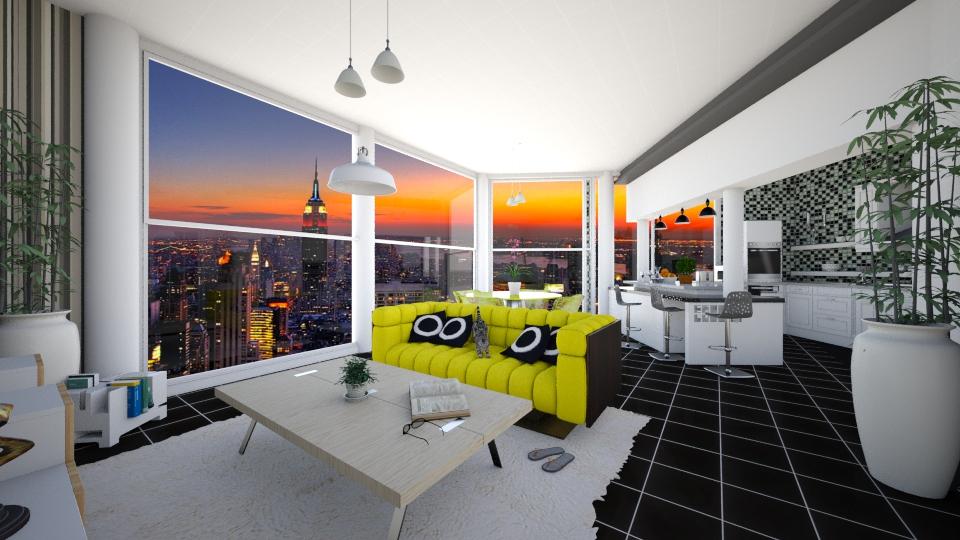 RJ - Living room - by rosanebpf