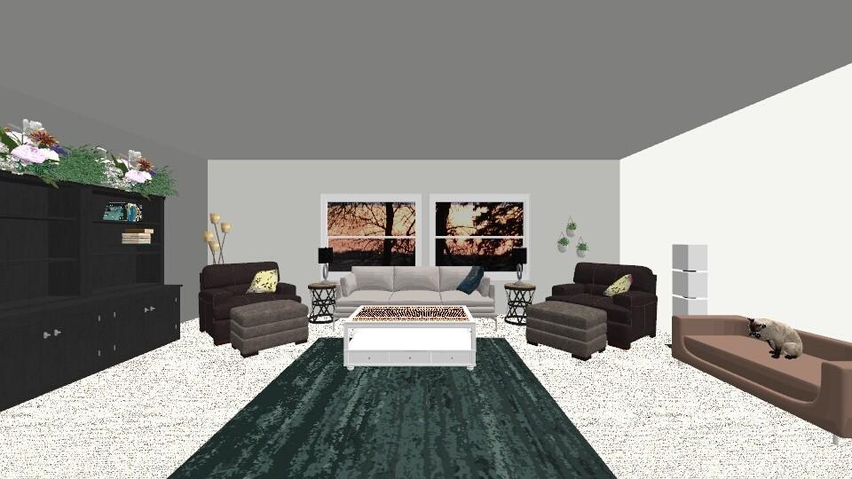 Moms Living room - Living room - by MiraculousInteriorDesign