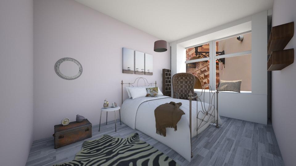 Cozy bedroom - Bedroom - by Polya_Nikols