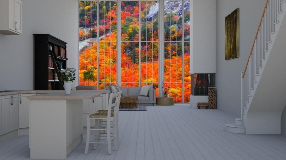High Windows - Living room - by Wohooo