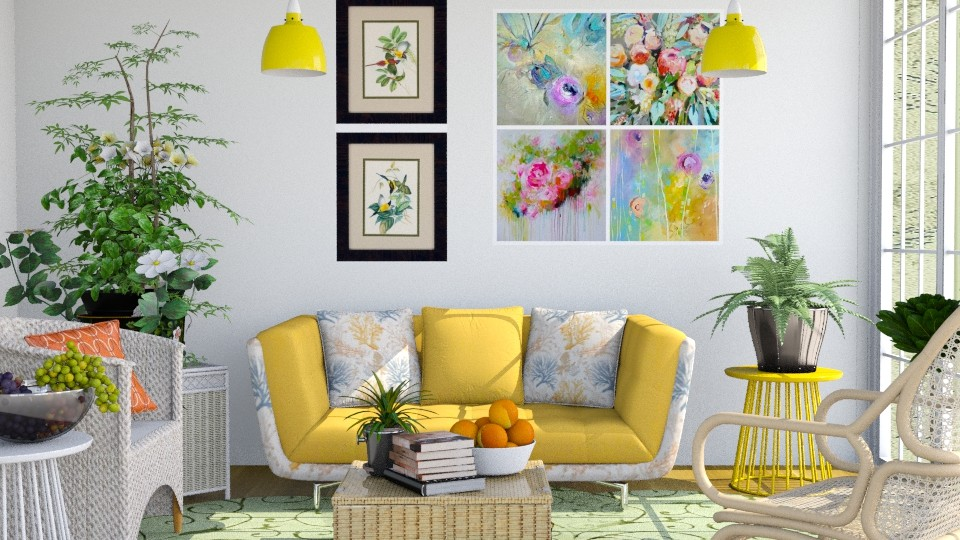M_Color and mood happy - Living room - by milyca8