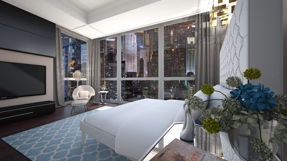 Modern Bedroom - by yonvie