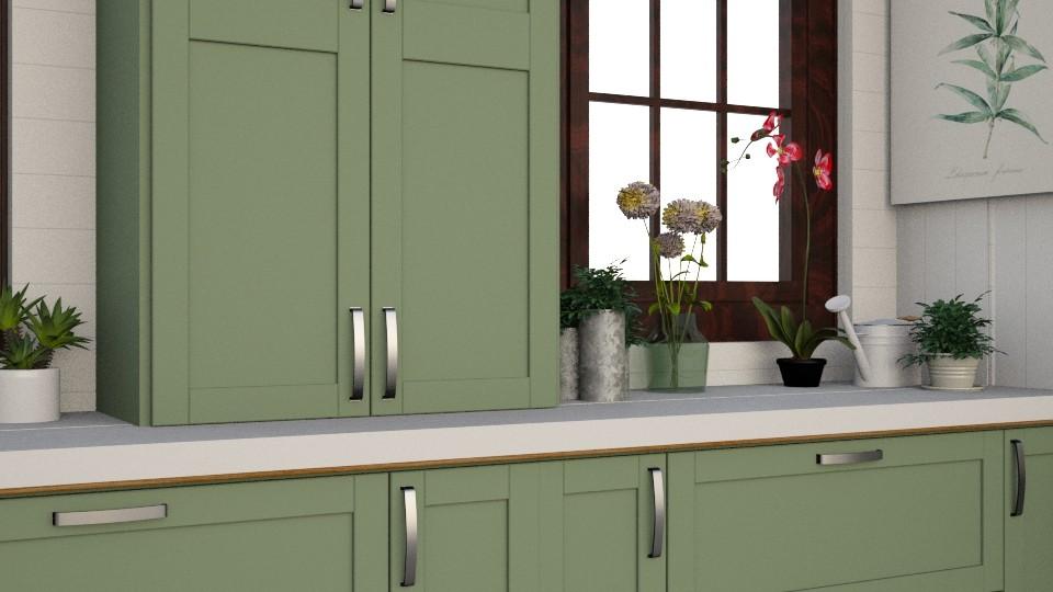 Kitchen - by Katie Whitley