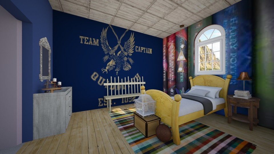 Harry Potter Theme Room - by roomystyler110