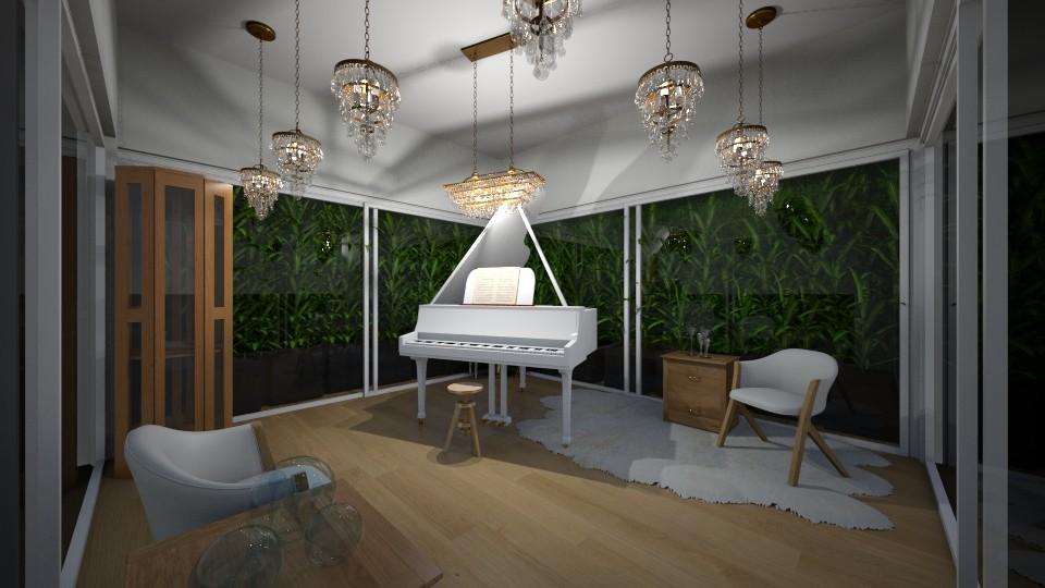 piano jungle - by ilikalle