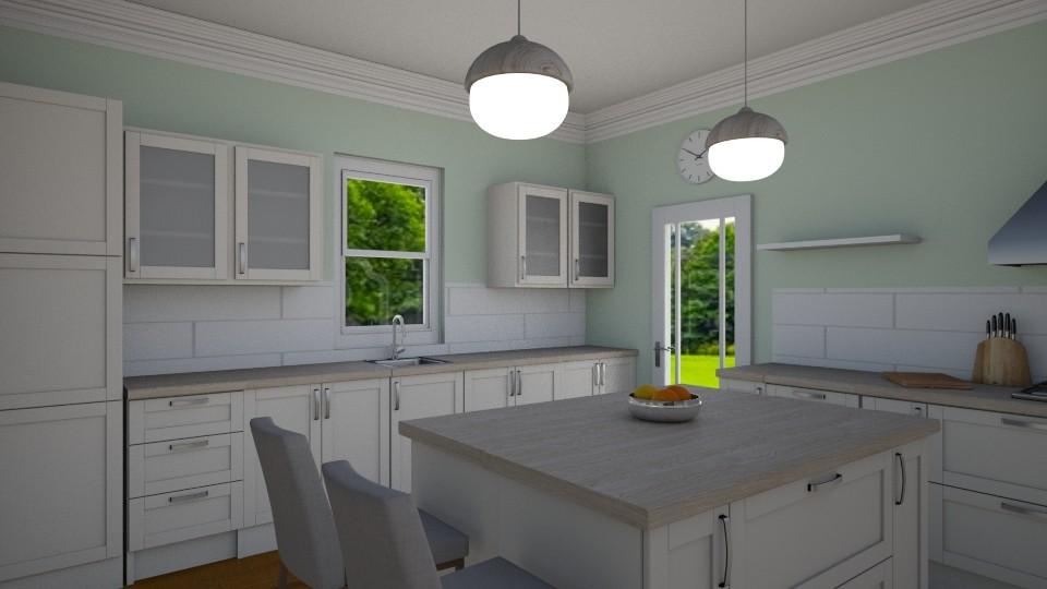Farmhouse Kitchen - by Taisha Casimir