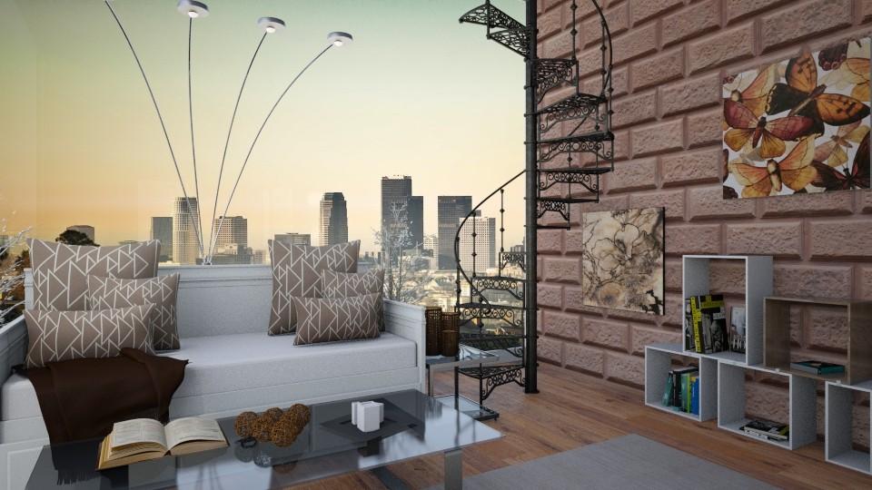 Downstairs Lounge - Modern - Living room - by Bekah Lynn