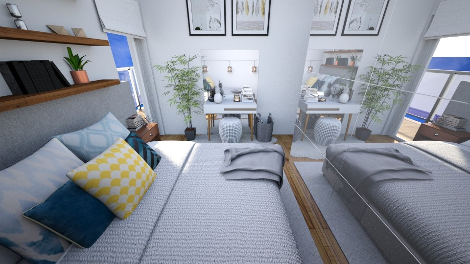 Tiny bedroom - by patie_k