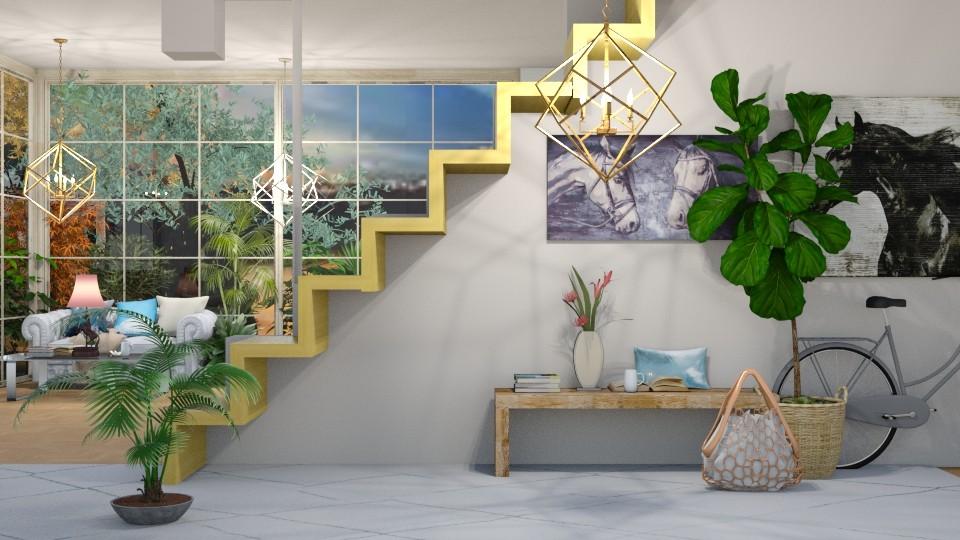 jungle hallway - Living room - by horseygirl Xx